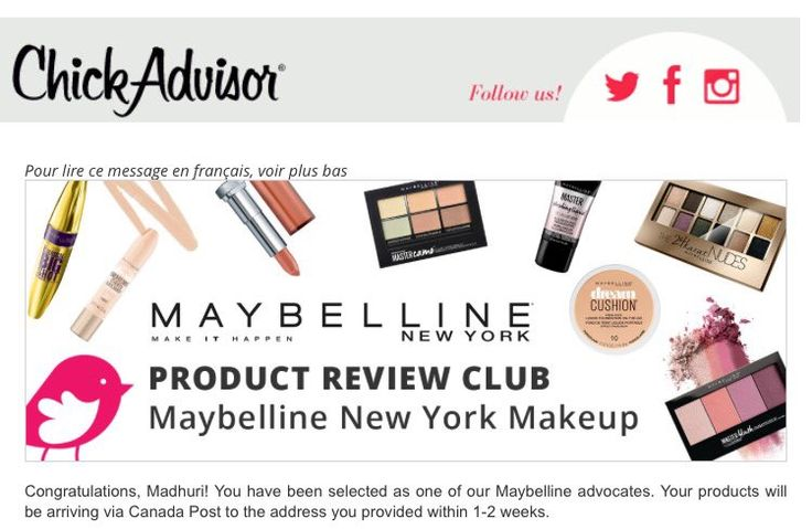 """Nikki on Twitter: """"@ChickAdvisor @Maybelline #LoveMaybellineNewYork it feels like christmas in spring!💃🏻 cant express how happy I am right now🎉🎊💅🏼💄👸🏻Thank you https://t.co/80mTmbuqOt"""""""