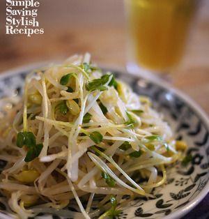 節約食材もやしをヘルシーで美味しいナムルに大変身!レンチンで簡単にできる!もやしのナムルの作り方