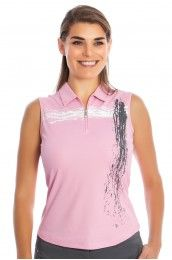 Nivo Blush Golf Sleeveless Shirt - NI5210175