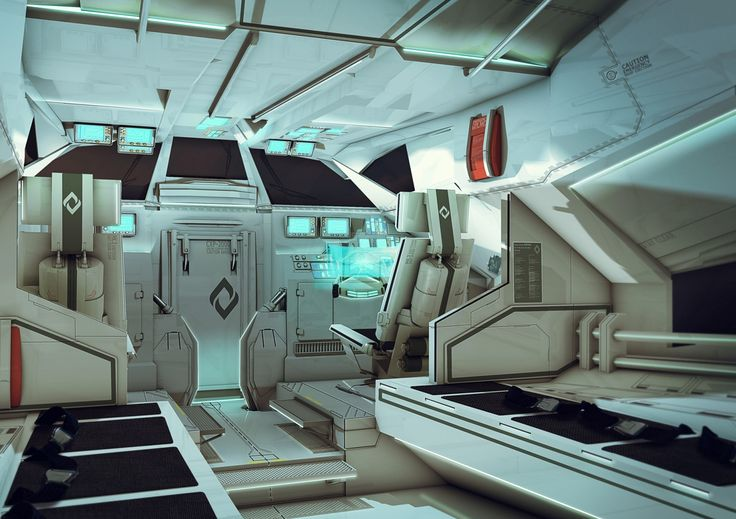 72 best spacecraft interior designs and sets images on for Futuristic control room