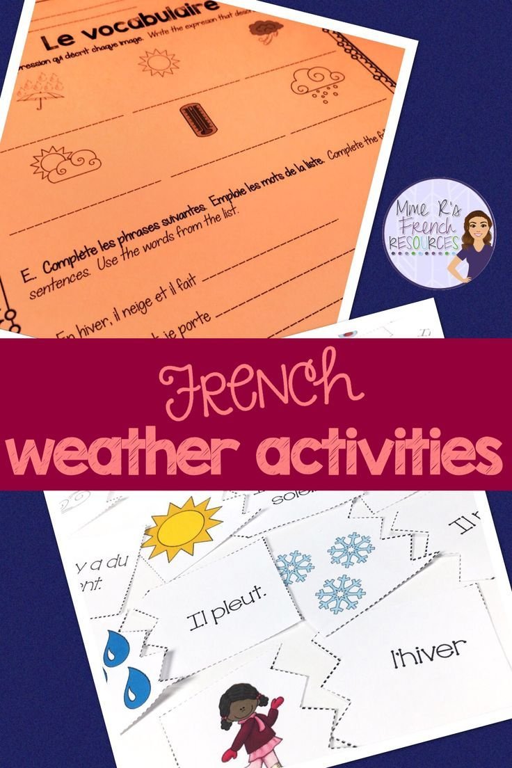 French Worksheets For Vocabulary And Verbs Learn French French Vocabulary French Activities [ 1104 x 736 Pixel ]