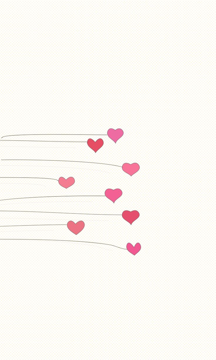 Hearts ★ Download more Girly iPhone Wallpapers at @prettywallpaper