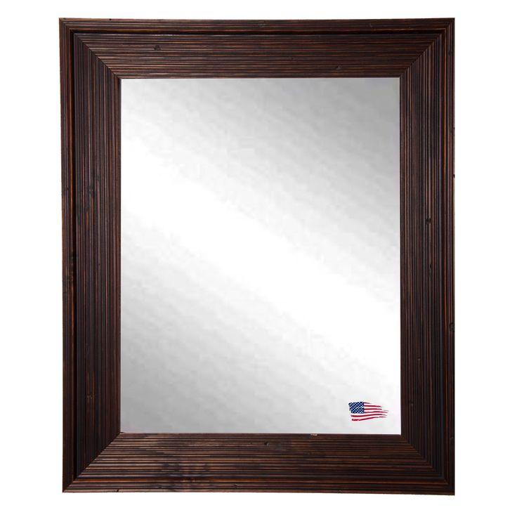 Have to have it. Rustic Brown Wall Mirror - $134.07 @hayneedle
