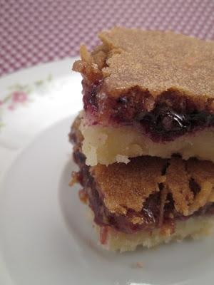 Through Grandma's Cookbook: Jam Layer Treat (Heather)