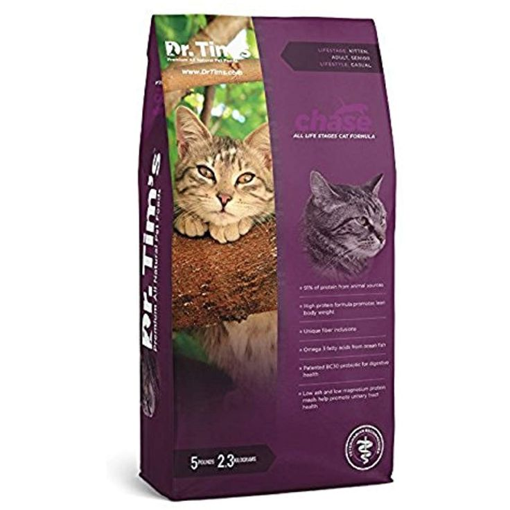 Dr tims premium all natural pet food chase all life