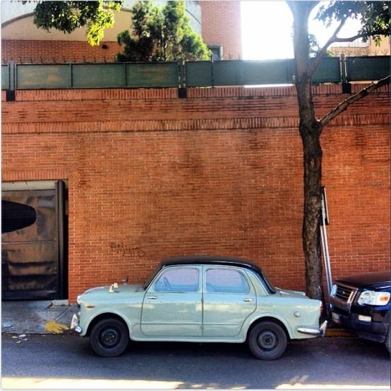 Fiat 1100, en La Castellana