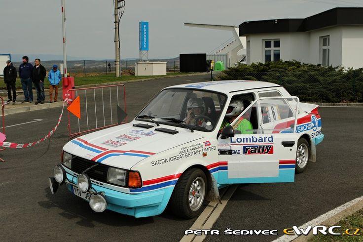 John Haugland; Julie Haugland; Škoda 130 LR; Rallye Praha Revival 2016