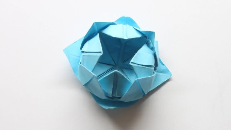 How to Make a Simple Origami Lotus Flower || Video Clips Tutorial || WikiHow Edited Article