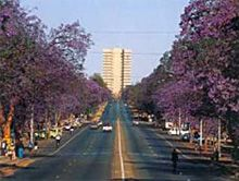 Bulawayo, Zimbabwe... I lived in the 10th floor if that tower.