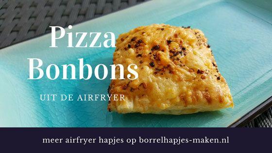 Super easy pizzahapjes van bladerdeeg uit de airfryer. Met maar 5 ingredienten maak je de beste hapjes voor verjaardagen, oud en nieuw etc.