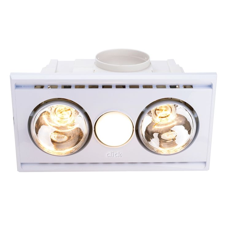 Find Click 2 Bulb White 3 In 1 Bathroom Heater At Bunnings Warehouse Visit Your Local Store For