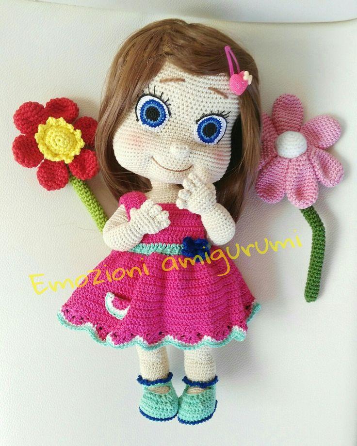 Doll amigurumi crochet bambletto