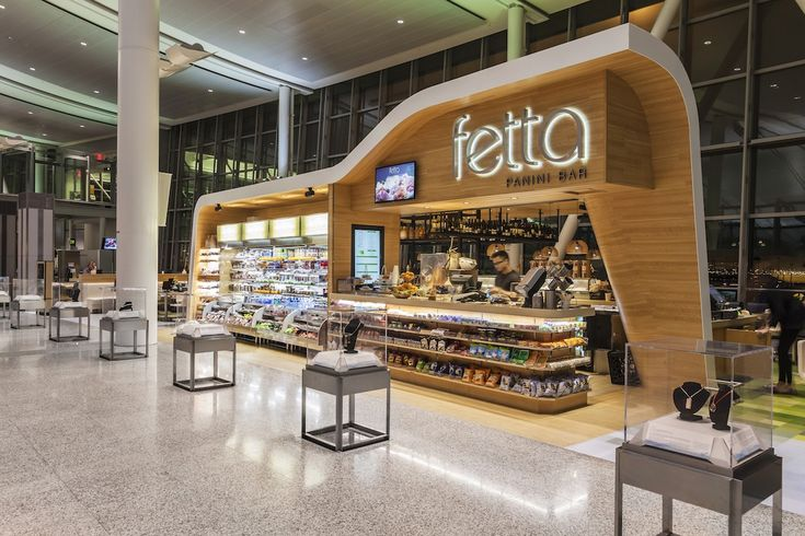 Fetta panini bar toronto pearson international airport for Amnagement bar cuisine