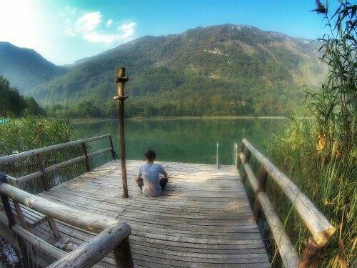 #meditation #lake #bosnaihercegovina #ontheroad #borackojezero