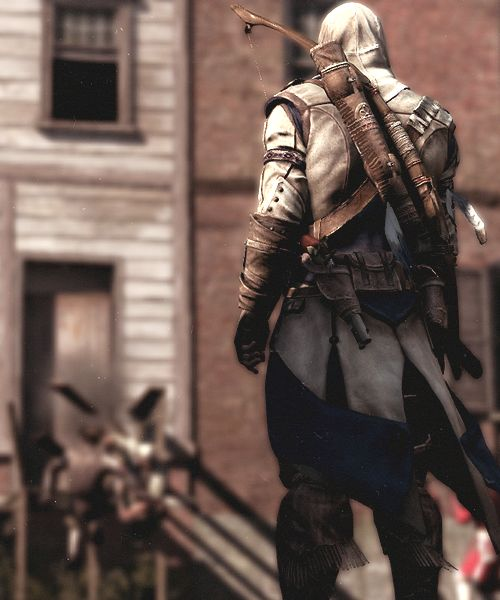 By far, Assassin's Creed is my favourite video game of all time. Connor Kenway is probably my favourite assassin out of the series though, the others are very close. (30)
