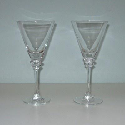 Pottery Barn Claro Wine Glasses Pottery Barn Tableware