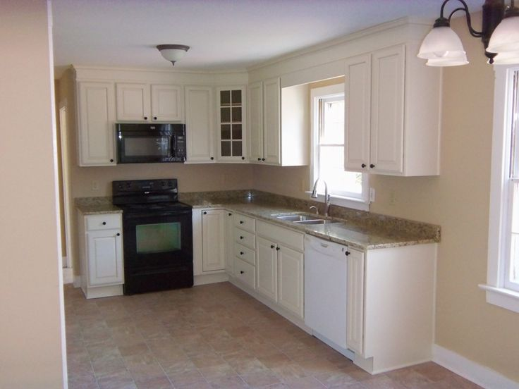 Awesome Very Small L Shaped Kitchen Cabinet