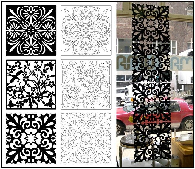 Decorative Panel Screen