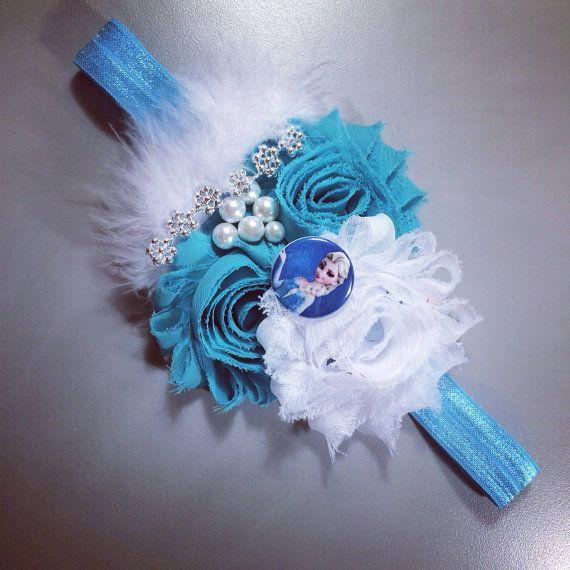 Princess Elsa inspired headband/Frozen Headband
