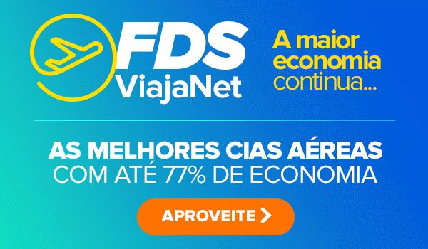 FDS ViajaNet! Voe com até 77% de economia! Vai perder? :: Jacytan Melo Passagens