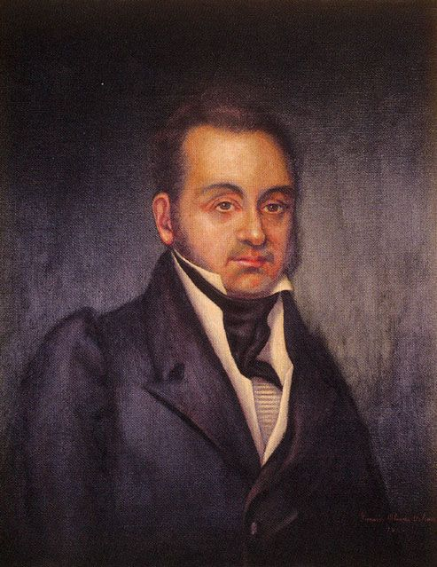 LORENZO de ZAVALA ... Texas Hero.  Former Gov and Minister for Mexico. He denounced Santa Anna who warned him not to return to Mexico.  Instead, helped draft Declaration of Texas Independence. Elected the first Vice-President of the Republic of Texas. Had long been an influential leader among the colonists, Zavala's advice was as influential as Austin's himself, and during the absence of Austin for any reason, Zavala assumed the leadership.
