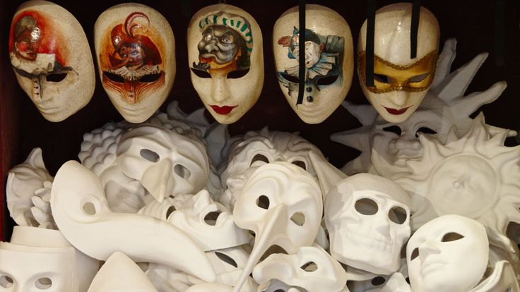Make your own mask in Venice