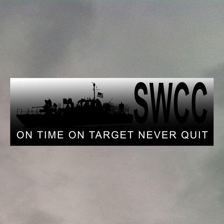 SWCC BUMPER STICKER SWCC NSW Navy Bumper stickers