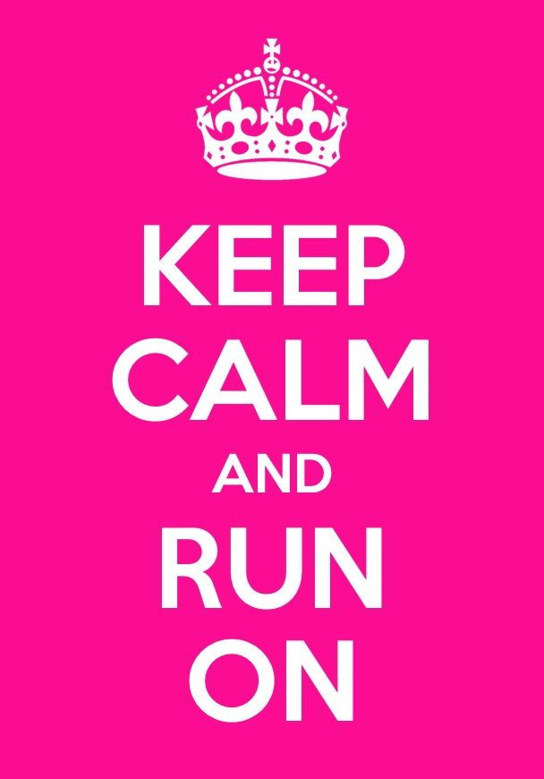 our 8 year old daughter runs a 'race for life' to raise money for cancer every year - this is for kate #keepcalm #running
