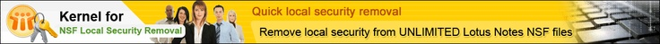 Free Download Kernel for NSF Local Security Removal Software Tool