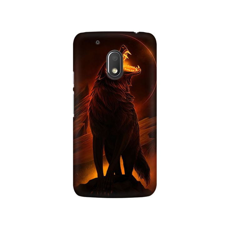 Wolf Moto G4 Play Mobile Case - ₹449.00 INR
