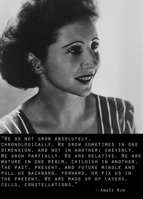 Anaïs Nin... Beautiful
