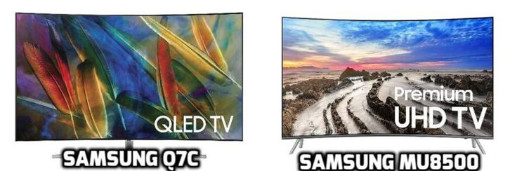 Samsung Q7C vs MU8500 Review