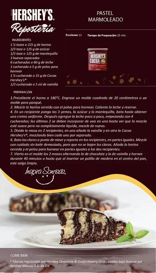 Pastel Marmoleado