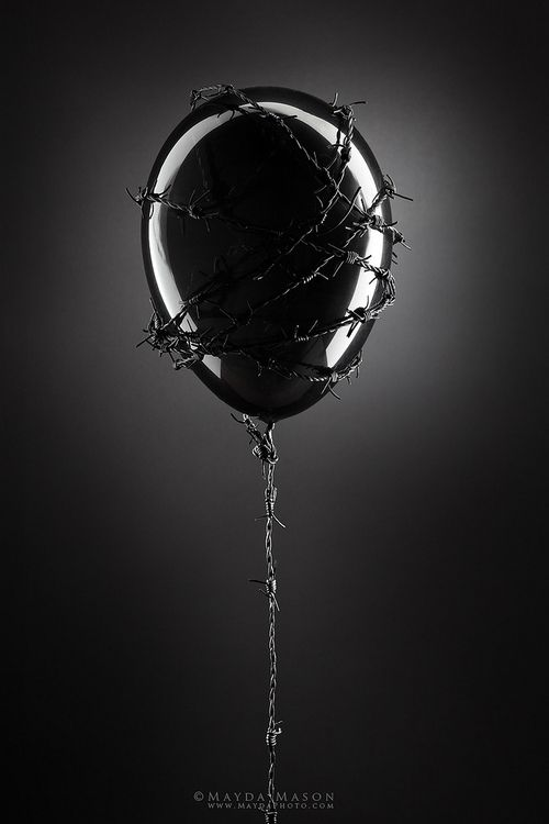 #black #balloon