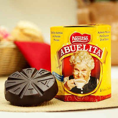 Instant hot chocolate pales to the taste of Abuelita.