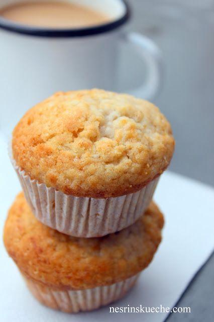 Hafif Mutfak: Muzlu Cevizli Vegan Muffin