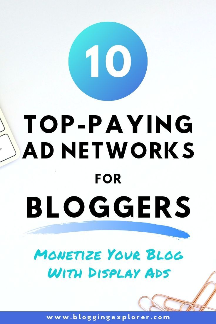 making money with online ad networks