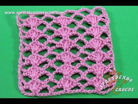 Ponto de Crochê Fantasia 3 - Aprendendo Crochê - YouTube
