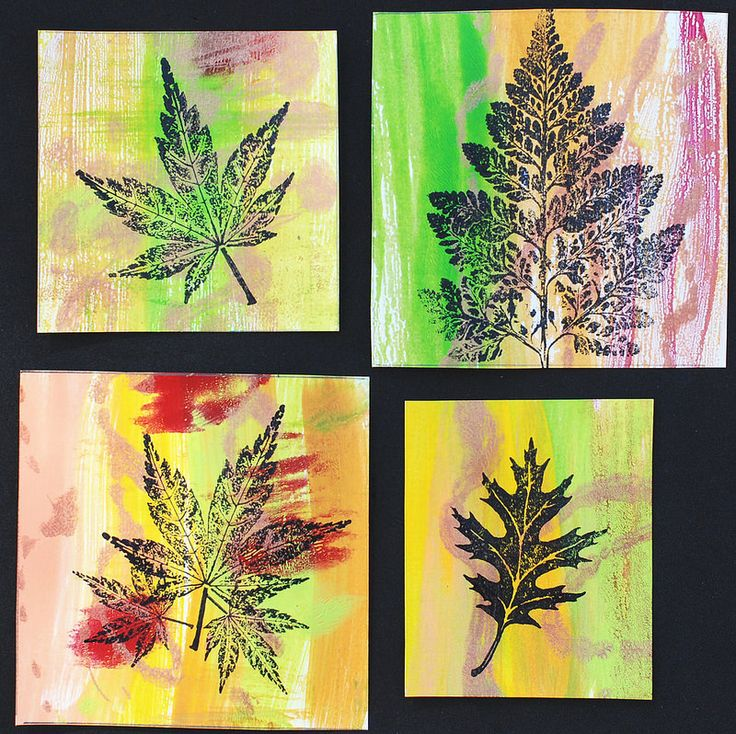 Art Panels - Fall Leaves