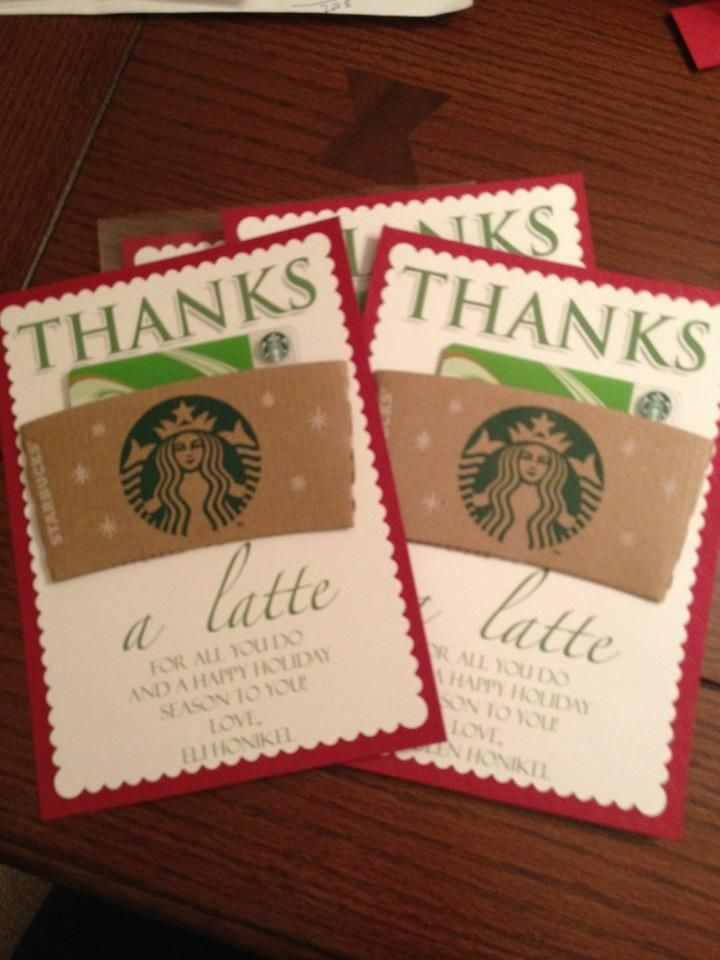 Such a cute idea for teachers gifts!!