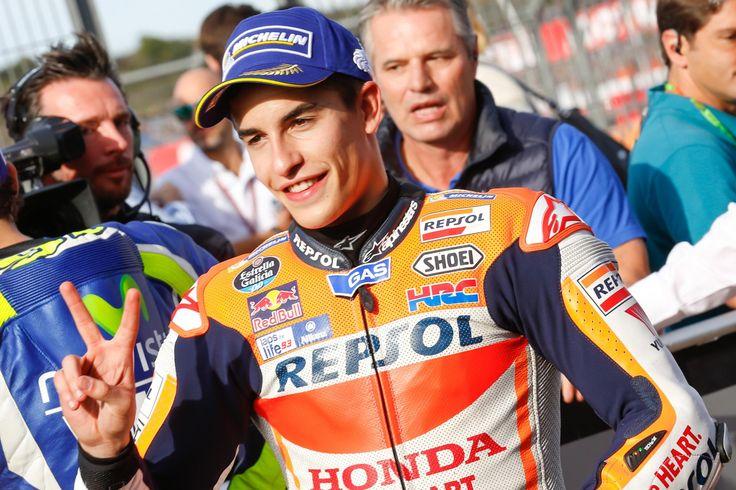 VALENCIA - Marquez Tetap Pakai Sasis 2014 Di Musim Depan. Marc Marquez, pembalap Repsol Honda, mengatakan jika musim depan ia akan tetap