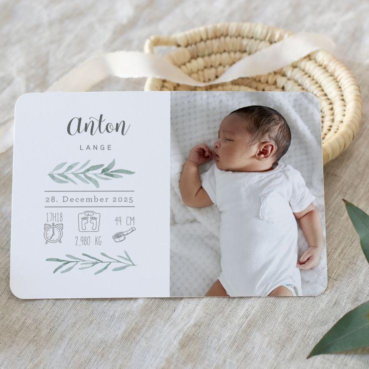 Carte de naissance | Armand   – Geburt | Papeterie