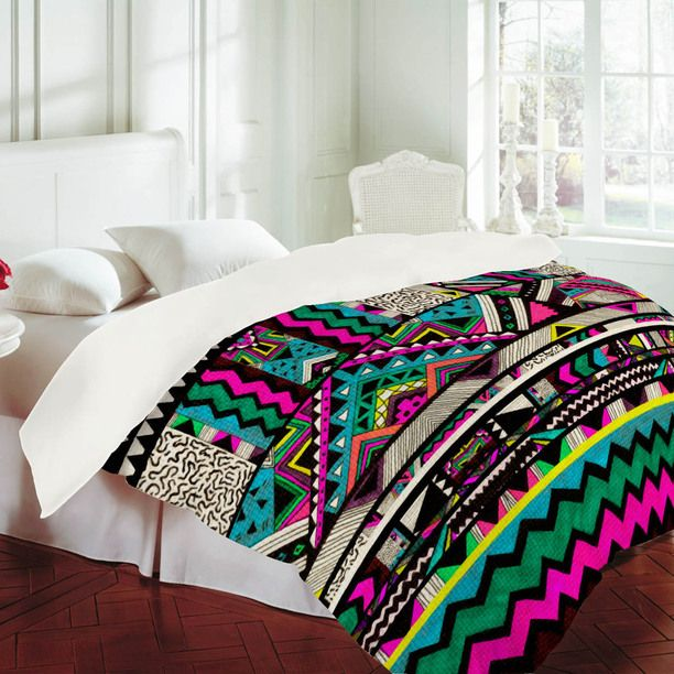 This Aztec tribal duvet cover is A-mazing...Love love love it!!!!!!: