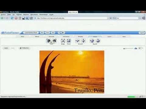 Fotoflex - Editor de imagenes online    http://www.youtube.com/watch/?v=1LQjzp1ruWs