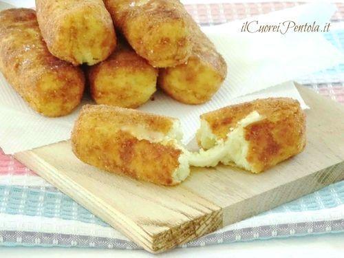Crocchette di patate filantihttp://www.ilcuoreinpentola.it/ricette/crocchette-di-patate-filanti/