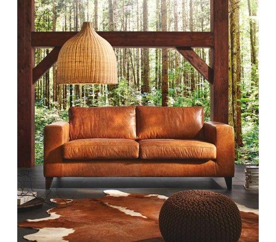 Ledercouch braun  7 besten Couch Bilder auf Pinterest | Antike, Braun und Couch mit ...