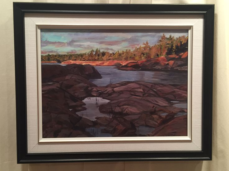 """Northern Light"" acrylic Carla McGillivray"