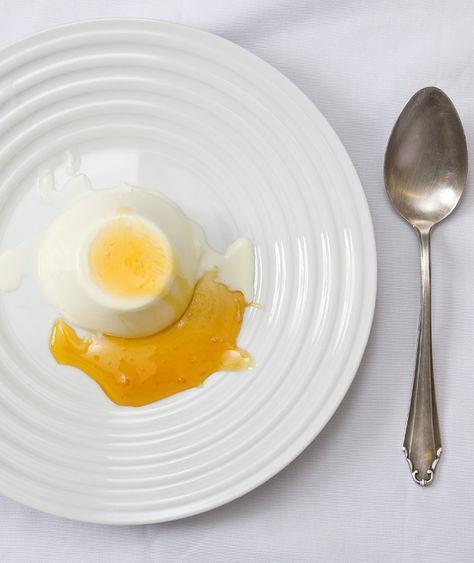 Νηστίσιμη πανακότα με σπιτικό γάλα αμυγδάλου | Στέλιος Παρλιάρος