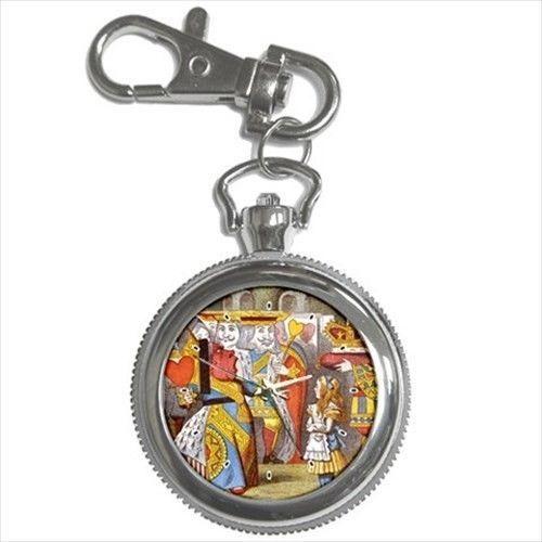 Queen Of Hearts Alice In Wonderland Key Chain Watch