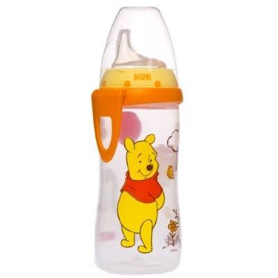 NUK Disney Winnie the Pooh 10 Ounces Active Cup Silicone Spout 12 Months
